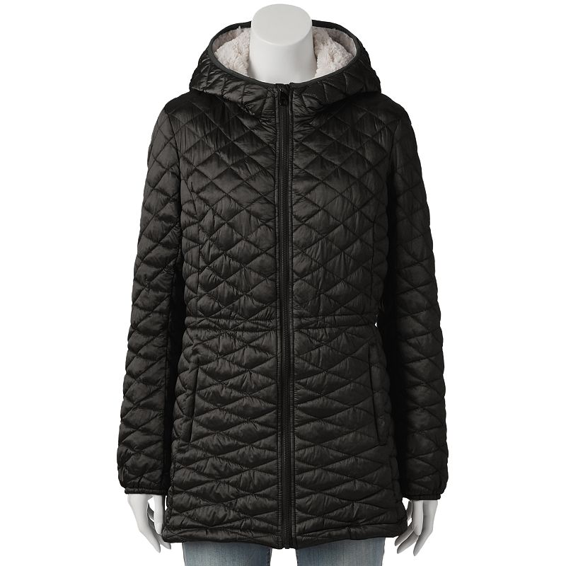 Women's Triple Star Quilted Hooded Jacket