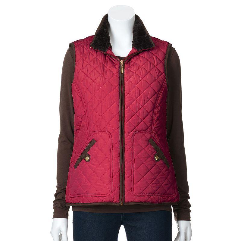 Women's Weathercast Full-Zip Quilted Vest