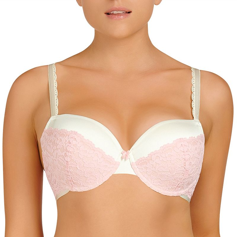 Evollove Bra: Dulce Candy Lace Full-Figure Contour Bra L210-0048 - Women's