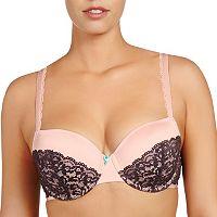 Evollove Bra: Dulce Candy Lace Full-Figure Contour Bra L210-0048 - Women's