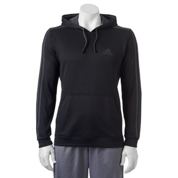 Adidas The Go-To 3-Stripe Mens Hoodie