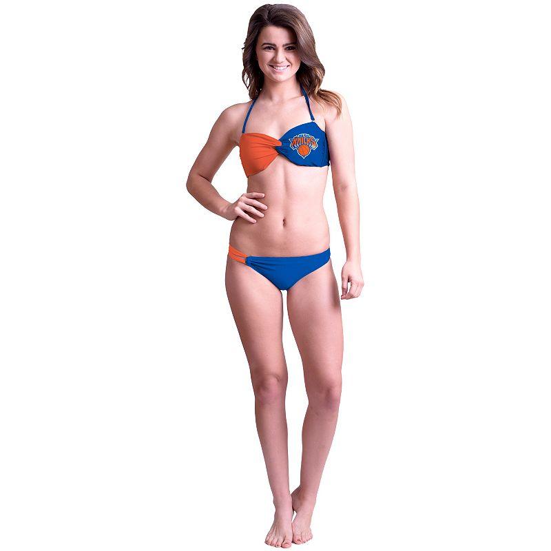 Women's New York Knicks Bandeau Bikini