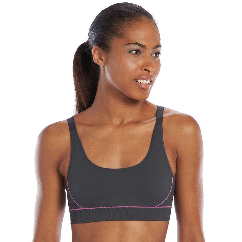 Lupo Bra: Interval High-Impact Sports Bra 71441-001 - Women's