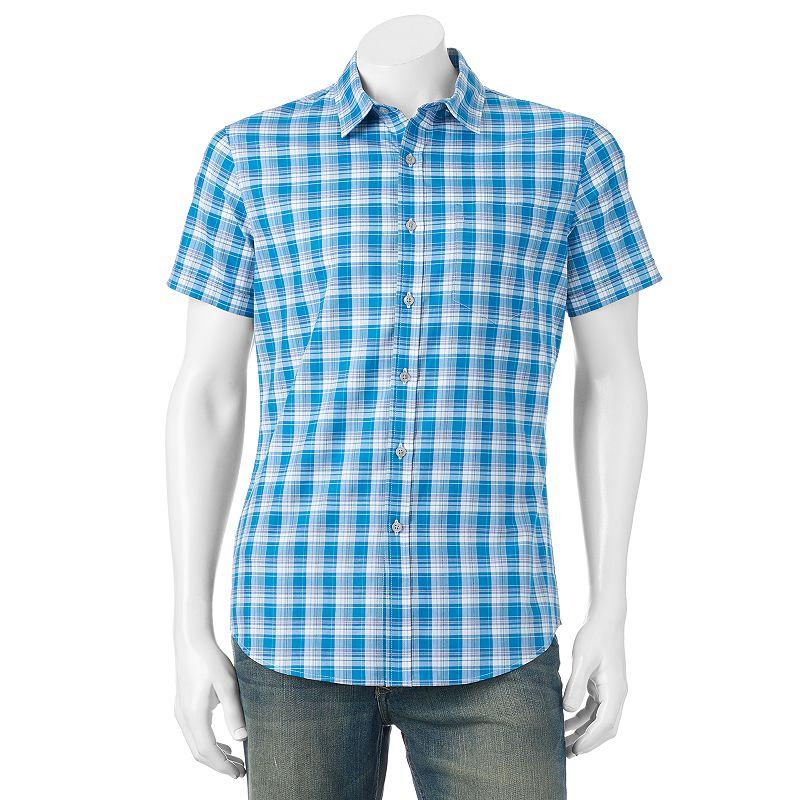 Apt. 9 Plaid Button-Down Shirt - Men