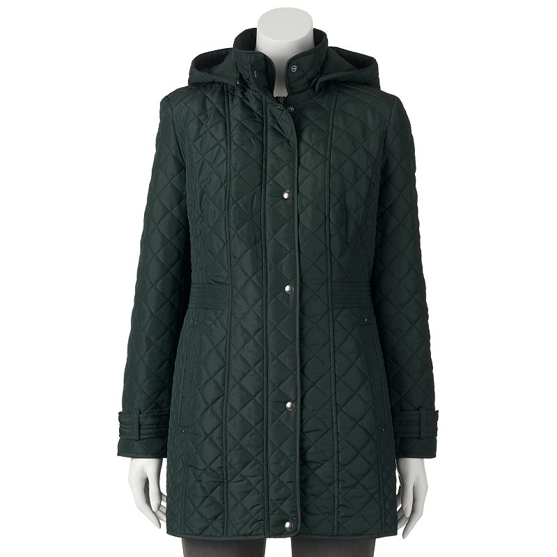 Women's Weathercast Hooded Quilted Jacket