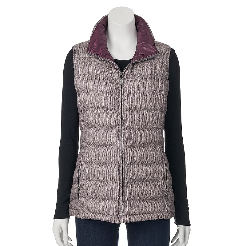 Women's Weathercast Packable Down Puffer Vest