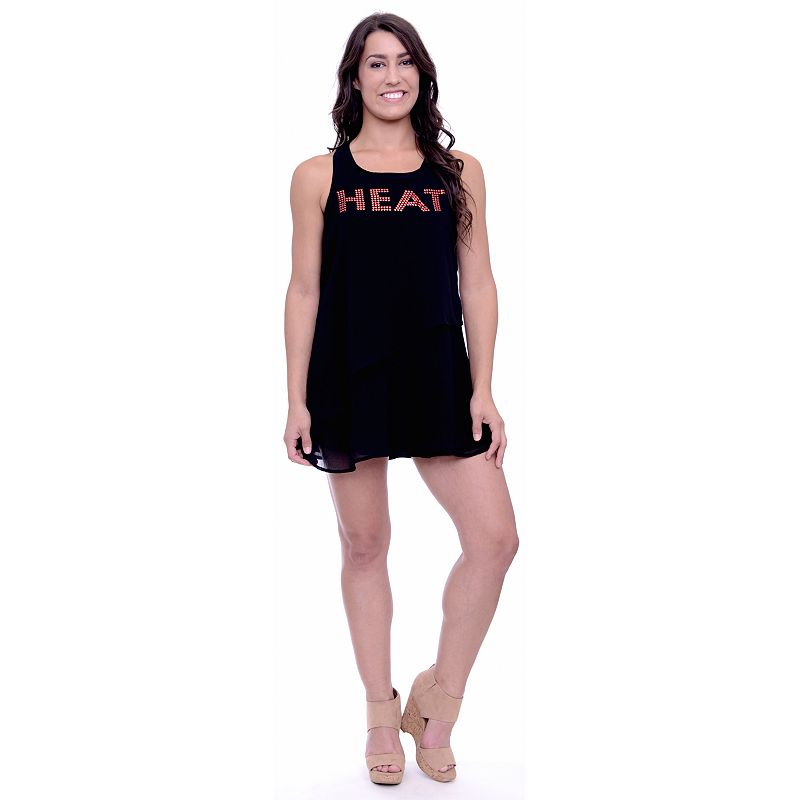 Women's Miami Heat Layered Dress