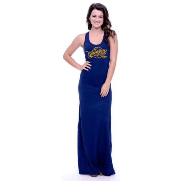 Women's Cleveland Cavaliers Lucky Charm Maxi Dress