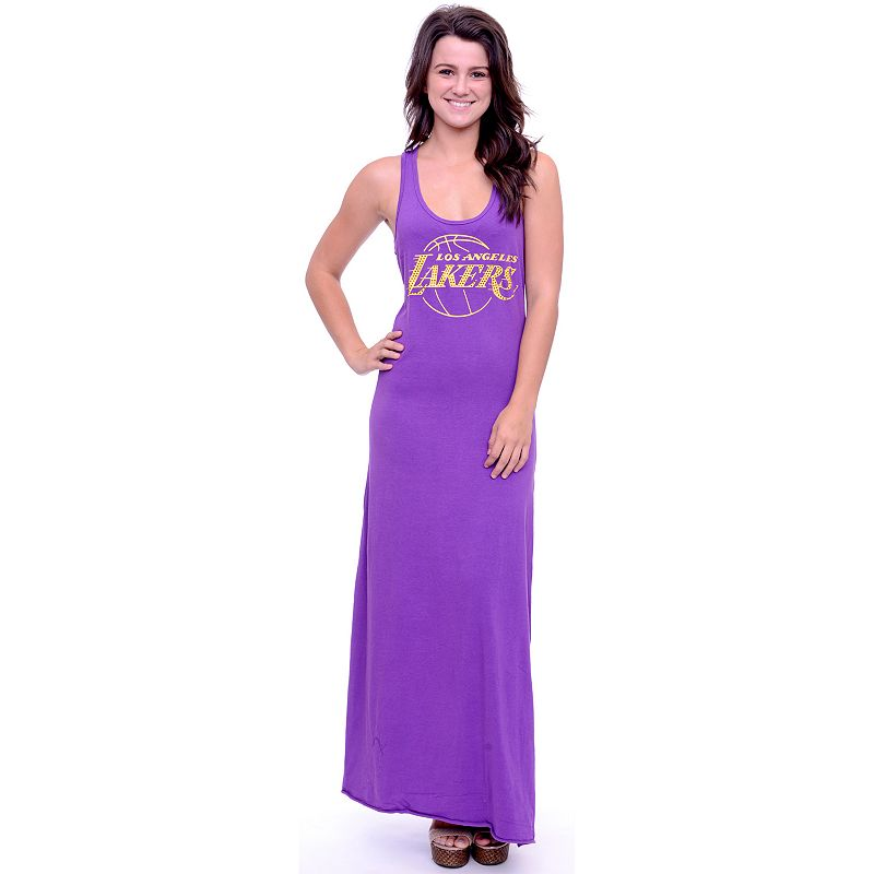 Women's Los Angeles Lakers Lucky Charm Maxi Dress