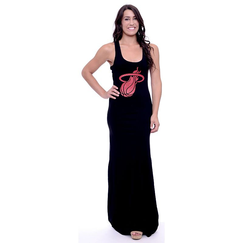 Women's Miami Heat Lucky Charm Maxi Dress