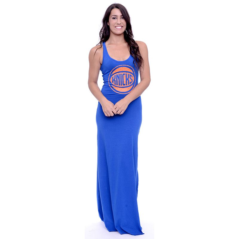 Women's New York Knicks Lucky Charm Maxi Dress