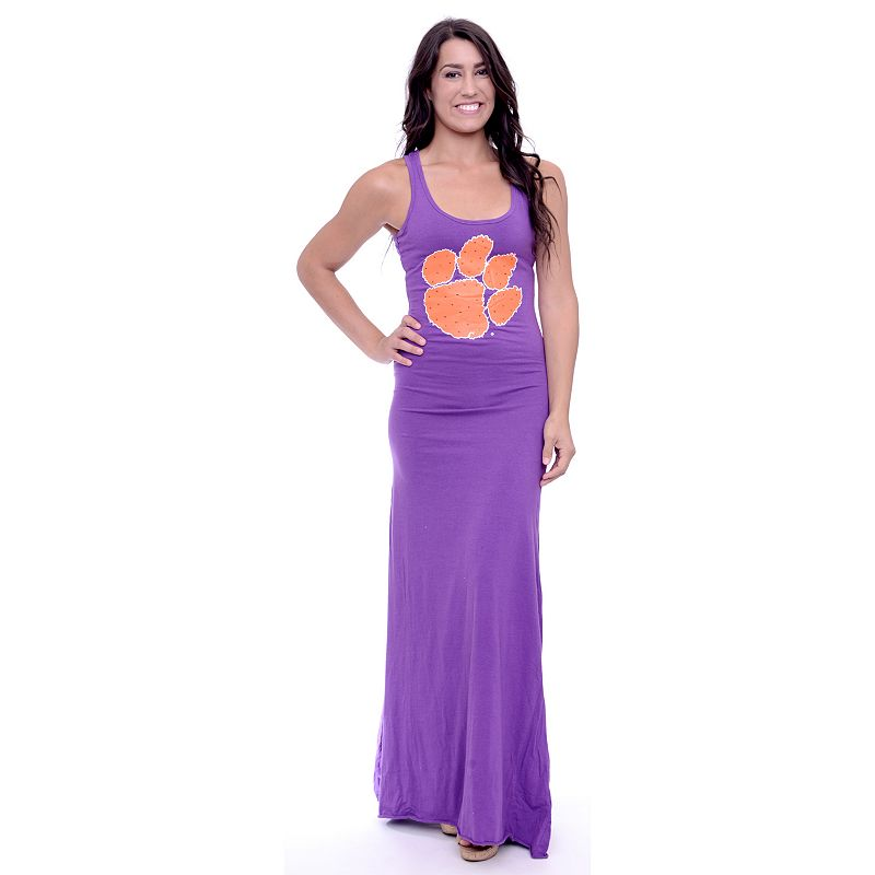Women's Clemson Tigers Lucky Charm Maxi Dress