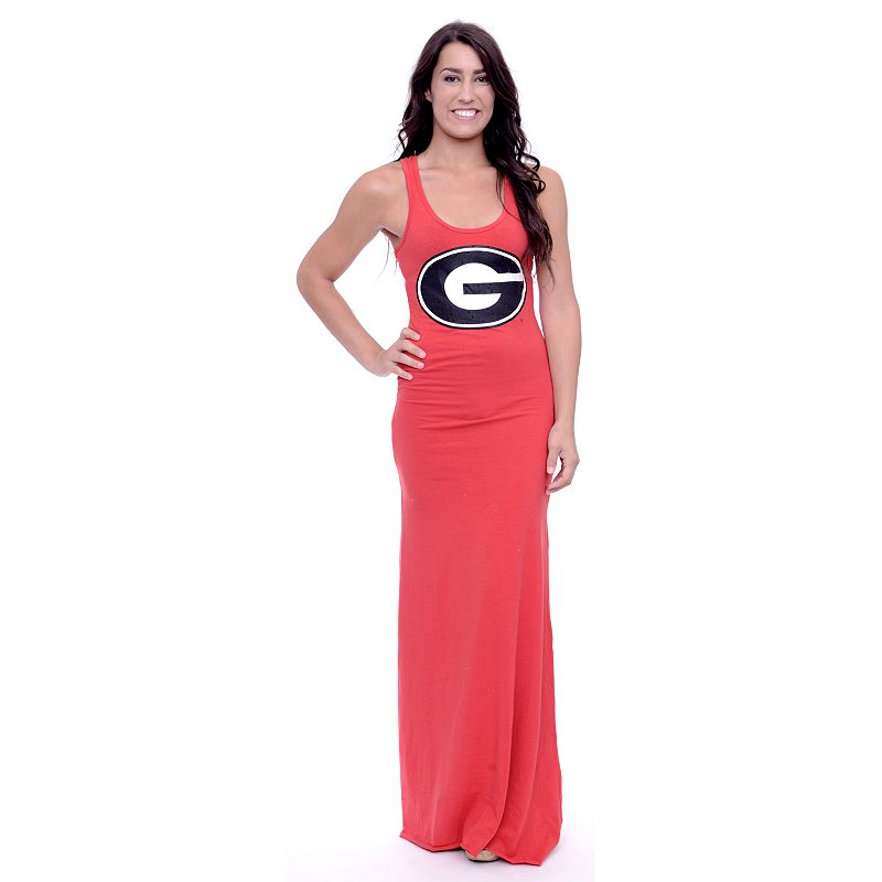 Women's Georgia Bulldogs Lucky Charm Maxi Dress