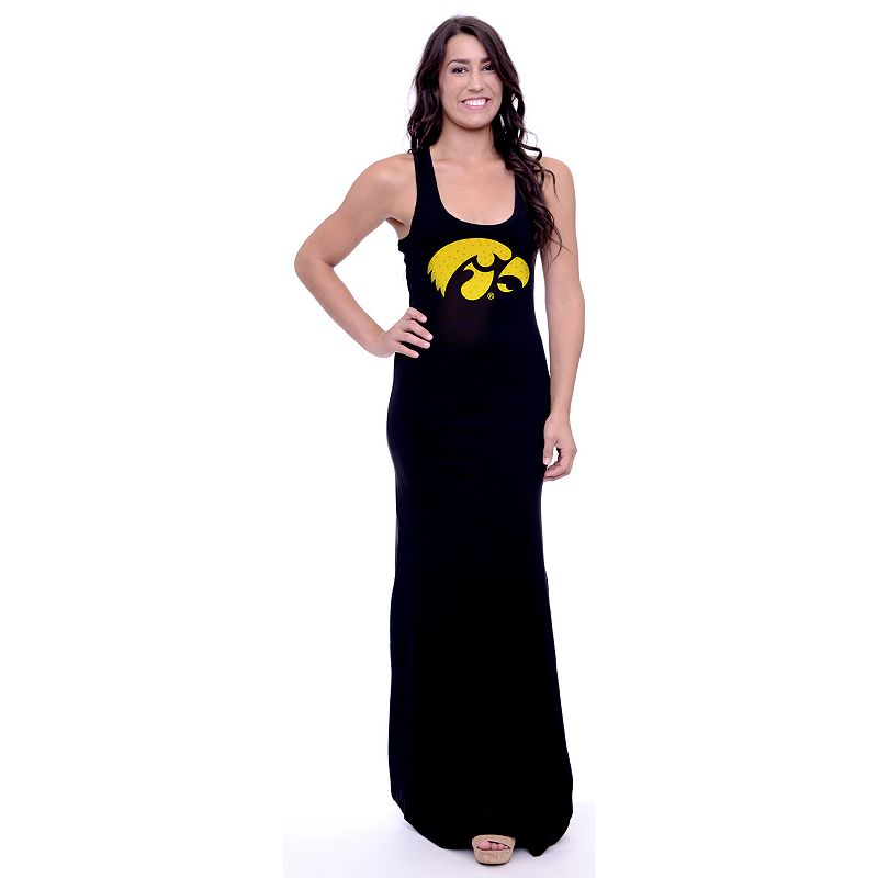 Women's Iowa Hawkeyes Lucky Charm Maxi Dress