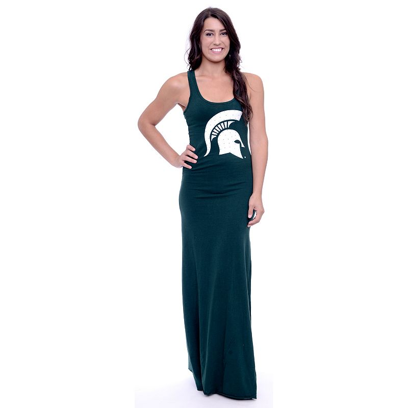 Women's Michigan State Spartans Lucky Charm Maxi Dress