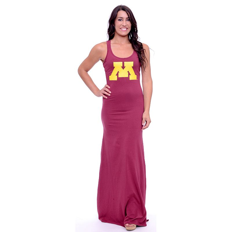 Women's Minnesota Golden Gophers Lucky Charm Maxi Dress