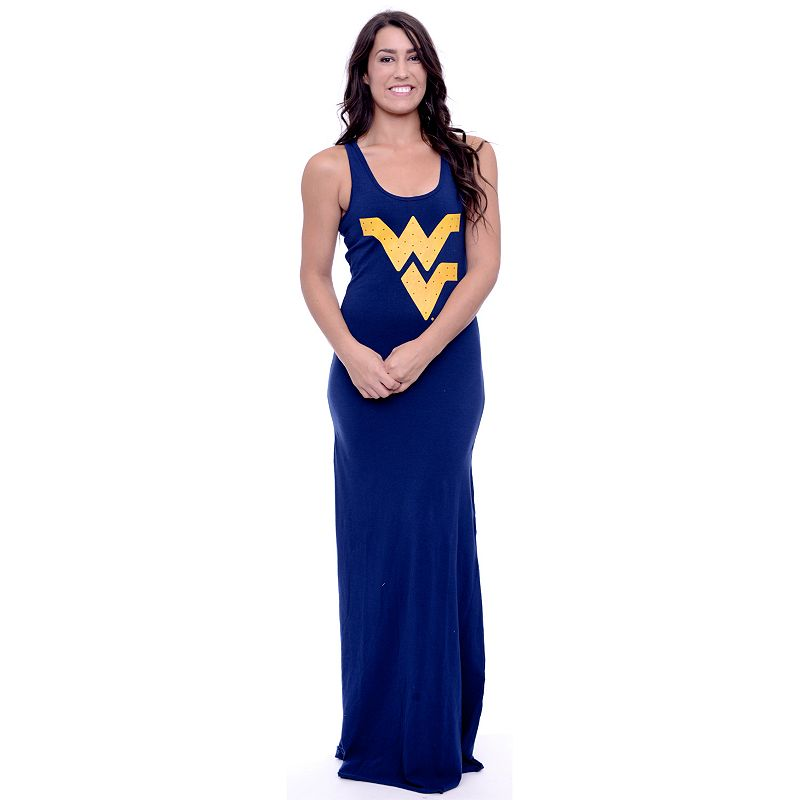 Women's West Virginia Mountaineers Lucky Charm Maxi Dress