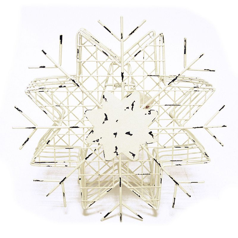 New View Snowflake Cork Catcher Decor.