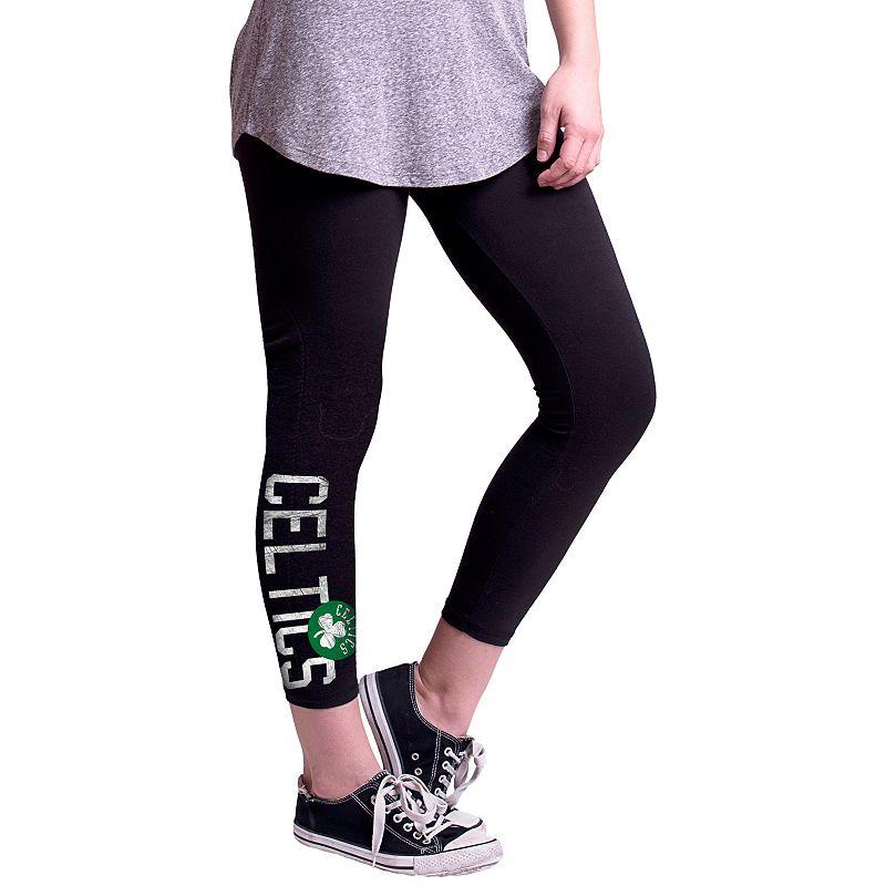 Women's Boston Celtics True Sport Capri Leggings