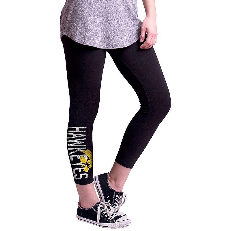 Women's Iowa Hawkeyes True Sport Capri Leggings