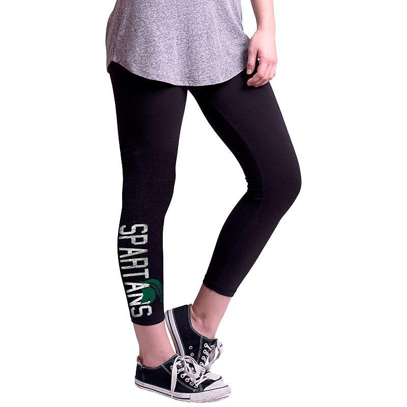 Women's Michigan State Spartans True Sport Capri Leggings
