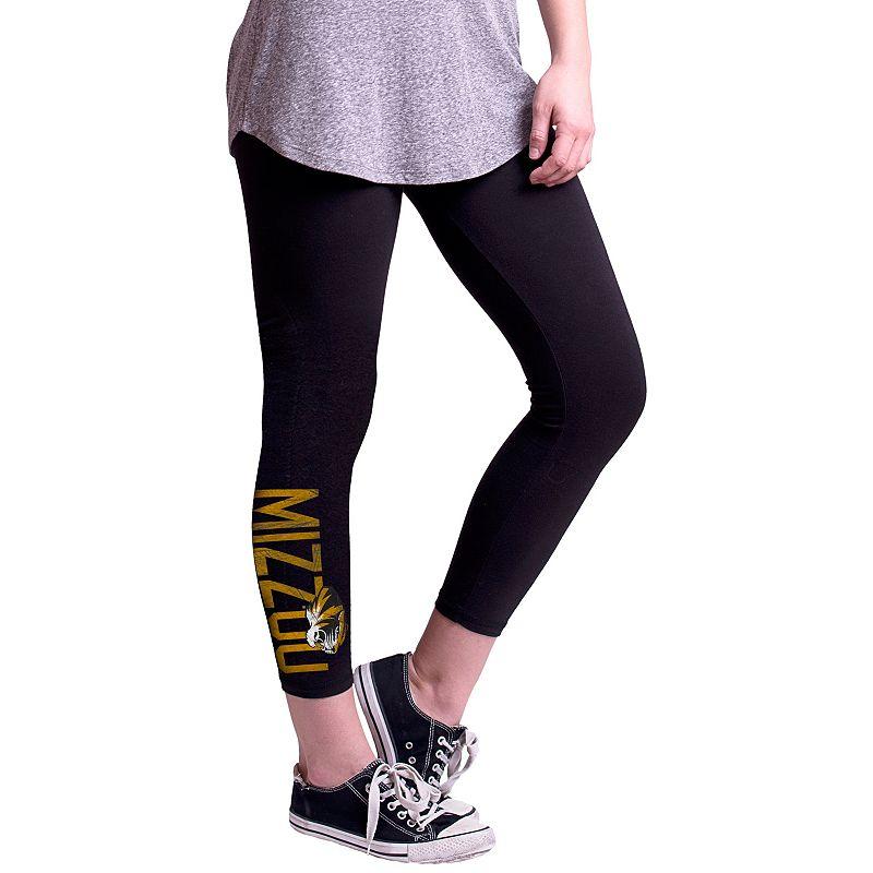 Women's Missouri Tigers True Sport Capri Leggings