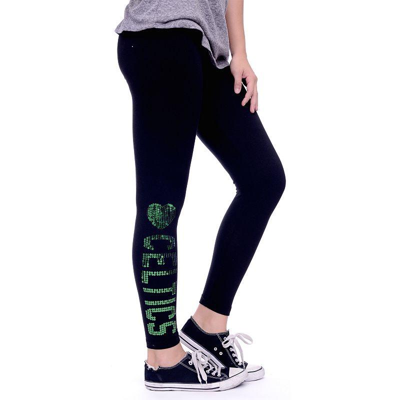 Women's Boston Celtics Sequin Leggings