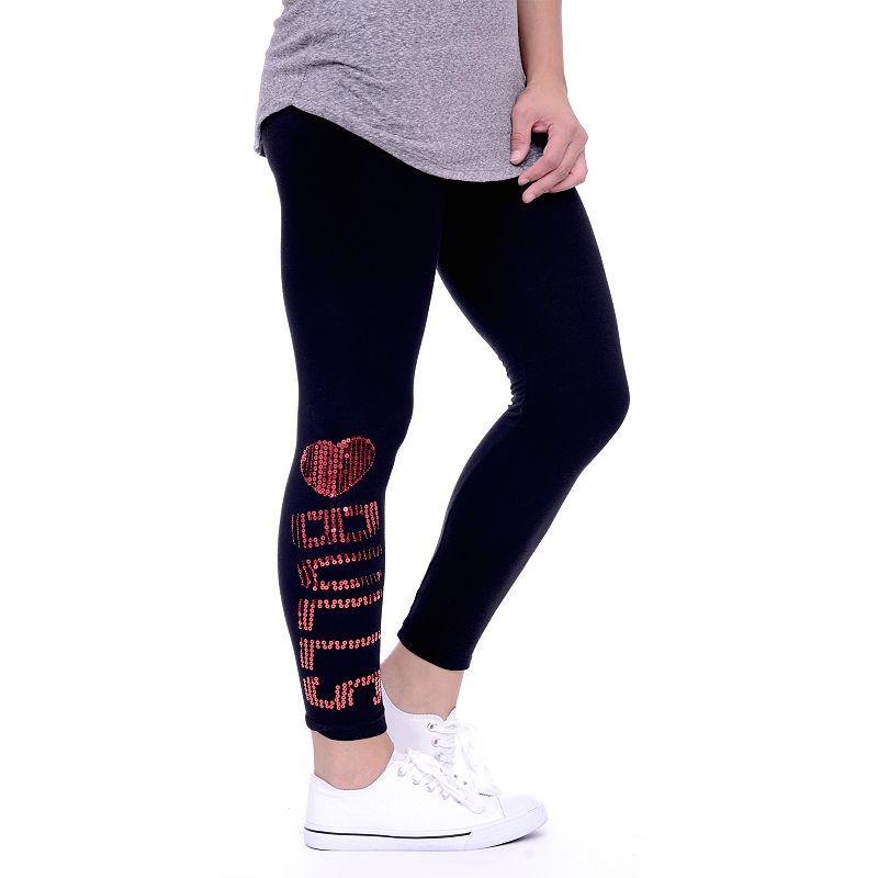 Women's Chicago Bulls Sequin Leggings