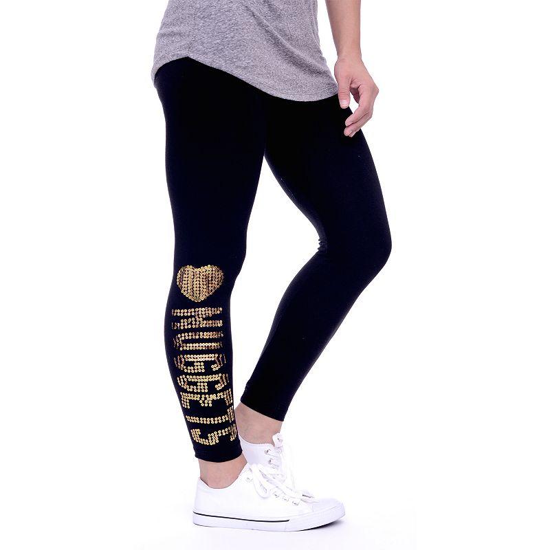 Women's Denver Nuggets Sequin Leggings