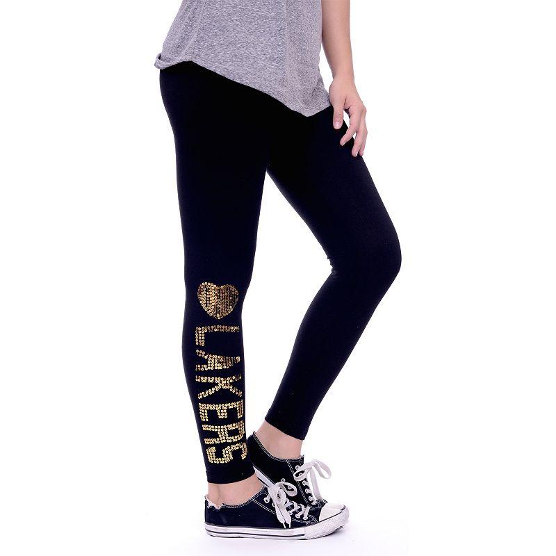 Women's Los Angeles Lakers Sequin Leggings