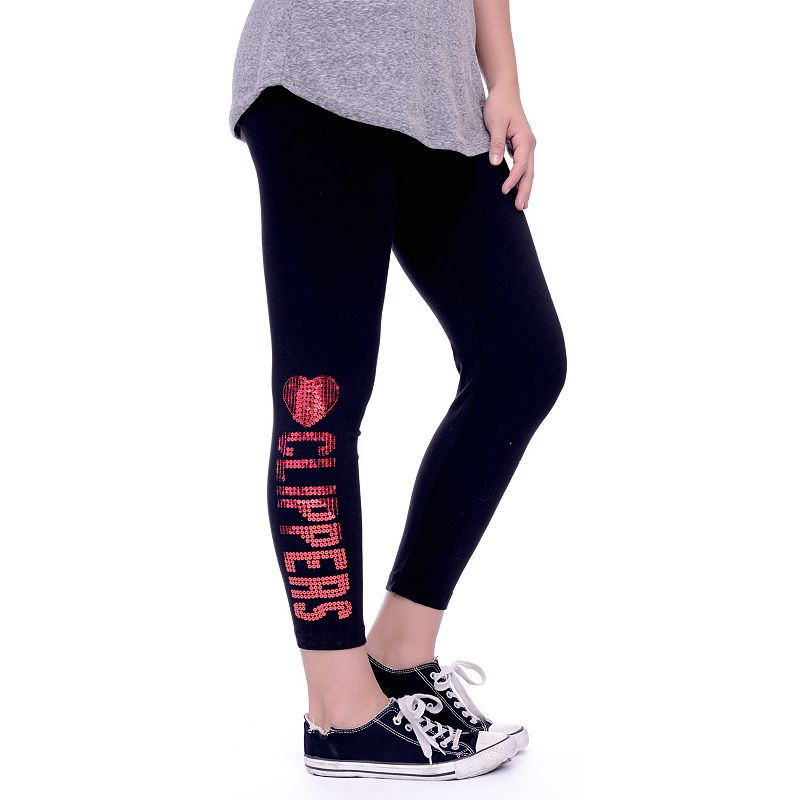 Women's Los Angeles Clippers Sequin Leggings