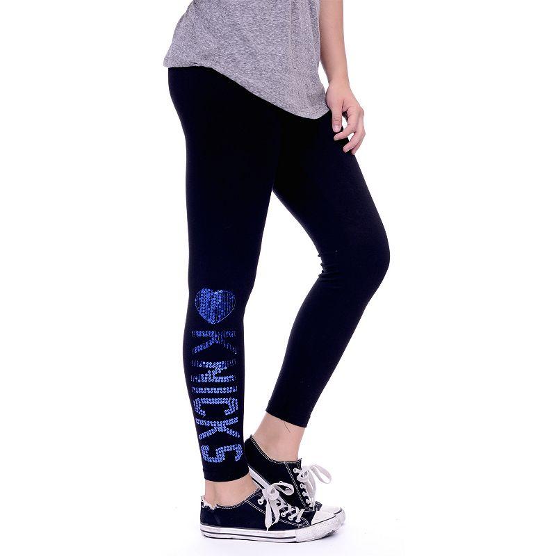 Women's New York Knicks Sequin Leggings