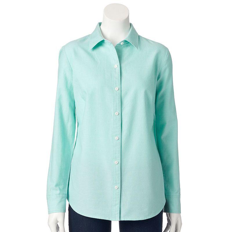 Women's Croft & Barrow® Oxford Shirt