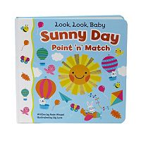 Look Look Baby Sunny Day Point 'N' Match Book by Cottage Door Press
