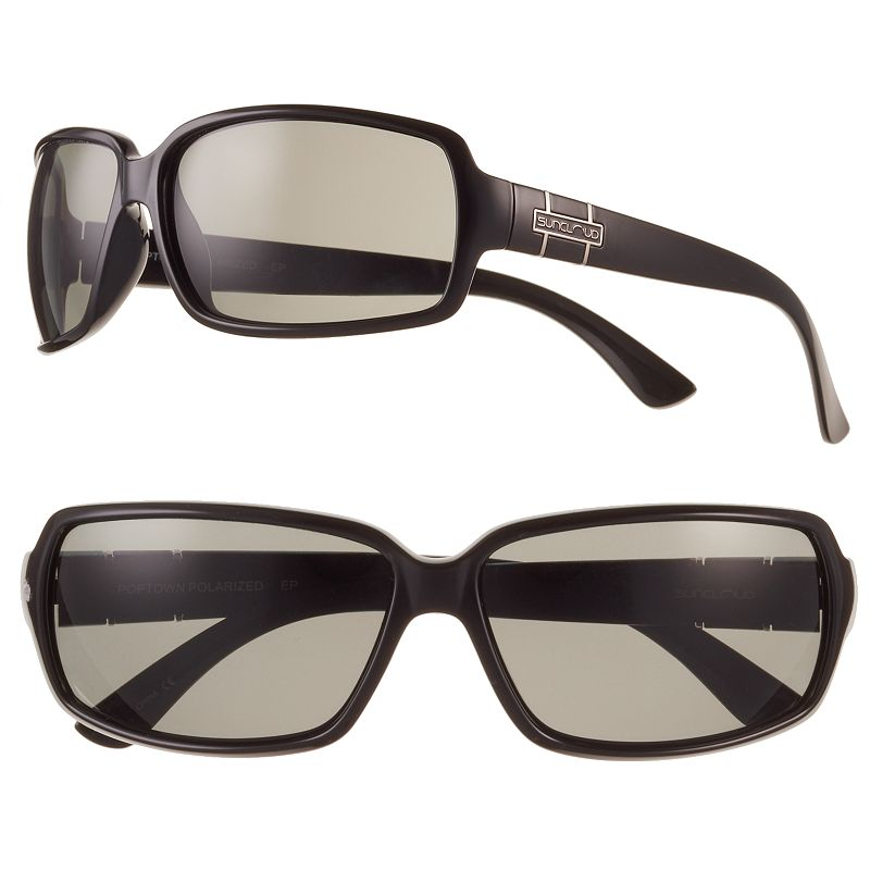 SUNCLOUD Poptown Polarized Square Women's Sunglasses