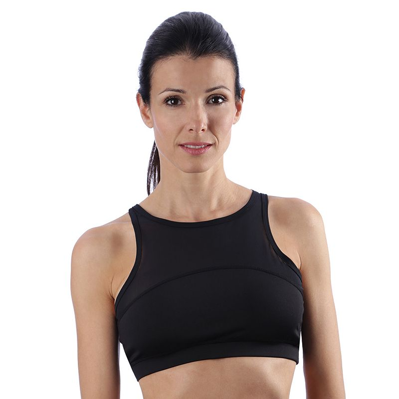 Pro Series by Kyodan Bra: Mesh Crop Medium-Impact Sports Bra PRT636
