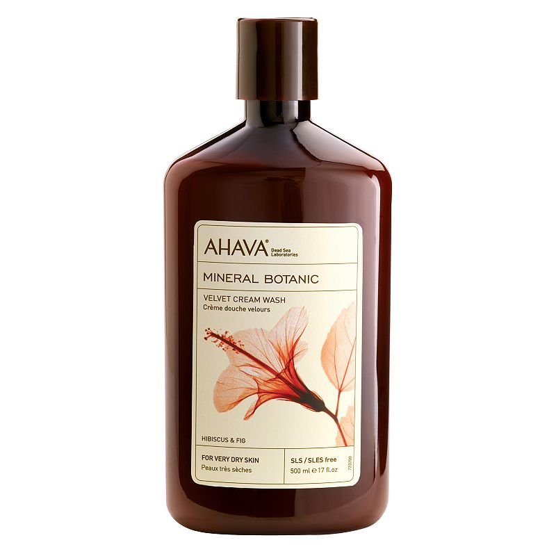 AHAVA Mineral Botanic Hibiscus & Fig Cream Wash