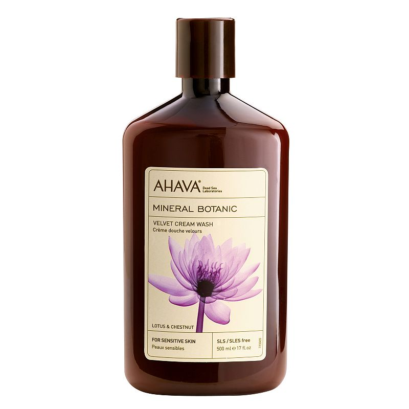 AHAVA Mineral Botanic Lotus Flower & Chestnut Cream Wash