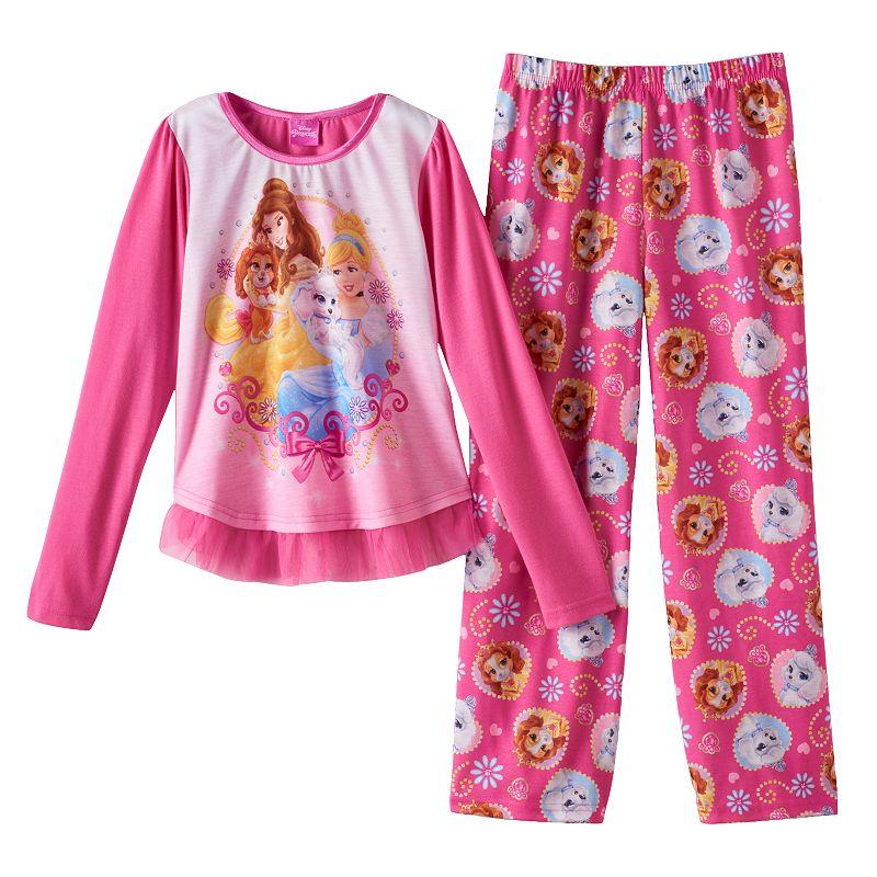 Disney Princess Palace Pets Pajama Set - Girls 4-10