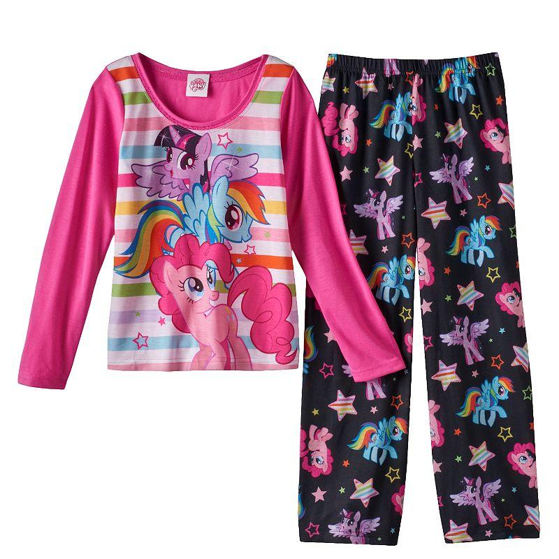 My Little Pony Striped Pajama Set - Girls 4-10