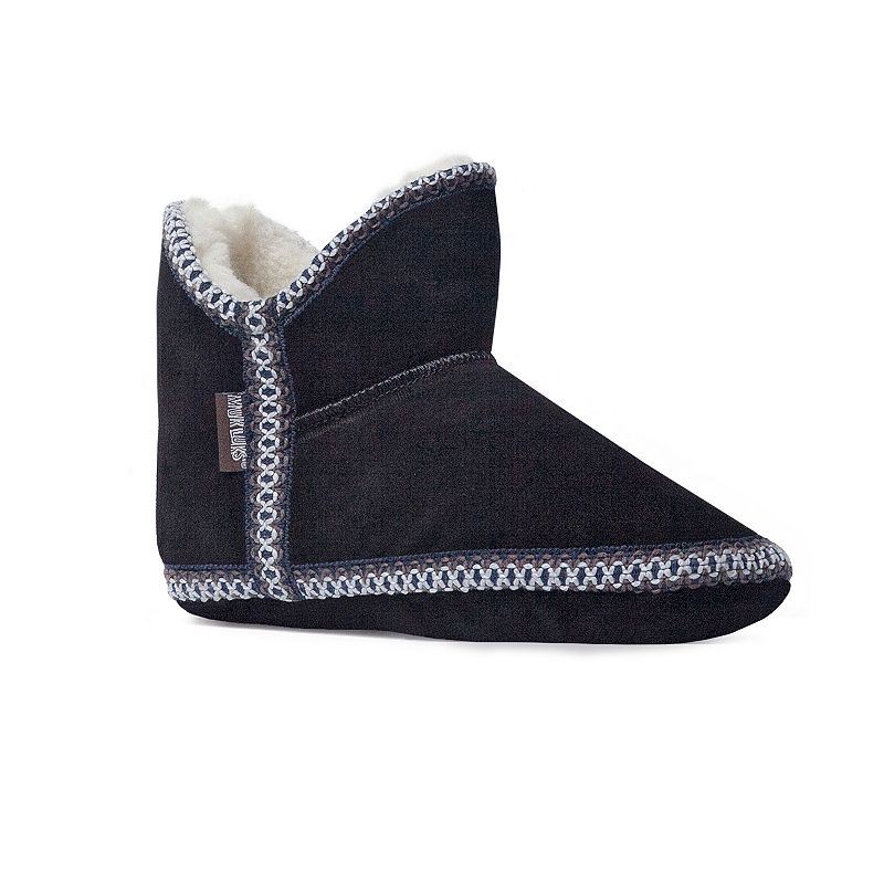 MUK LUKS Amira Women's Suede Bootie Slippers