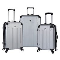 Travelers Club Chicago 3-Piece Hardside Spinner Luggage Set