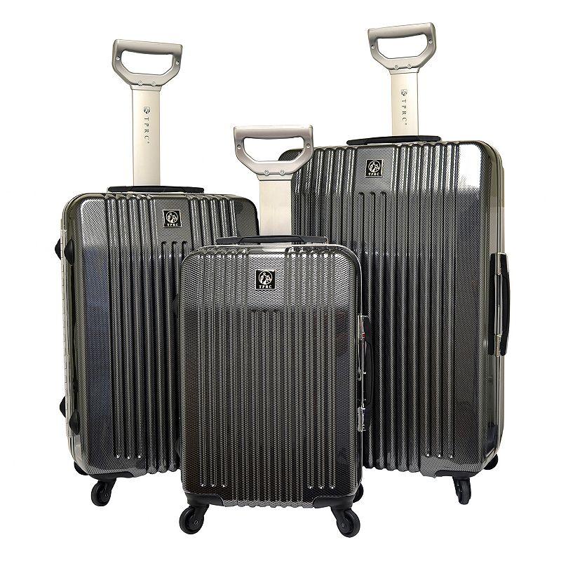 Travelers Polo & Racquet Club Jet Set 2.0 3-Piece Hardside Luggage Set