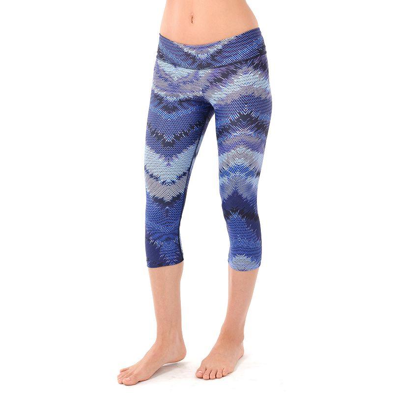NUX Rio Printed Capri Yoga Leggings - Women's