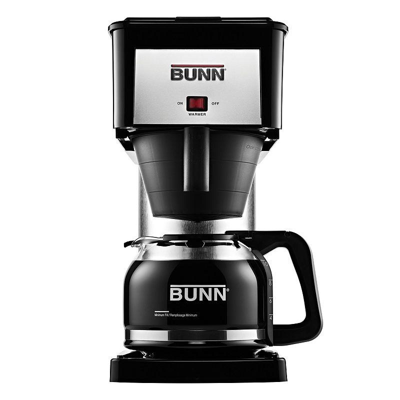 Bunn Velocity Brew Silver Finish 10-Cup Coffee Brewer