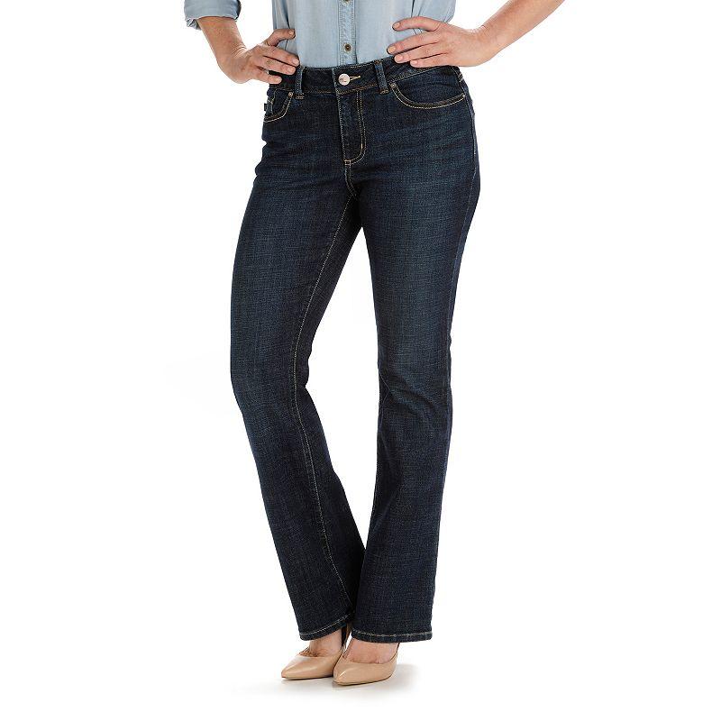 Petite Lee Carolyn Modern Fit Curvy Bootcut Jeans