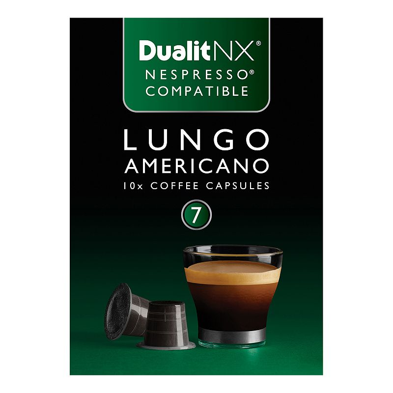 Dualit NX Coffee Lungo Americano Capsules - 10-pk.
