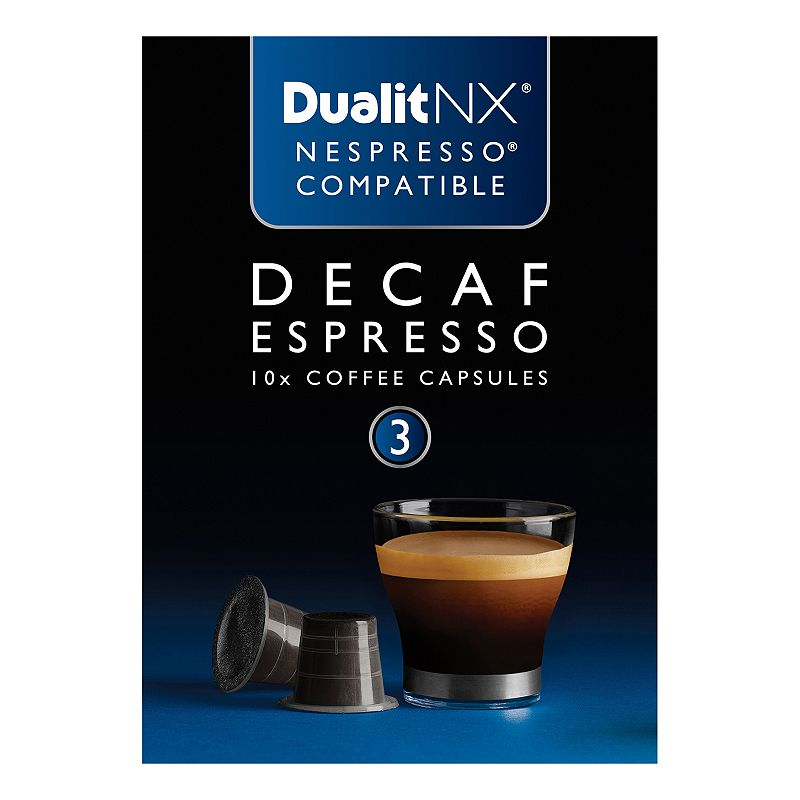 Dualit NX Coffee Decaf Espresso Capsules - 10-pk.