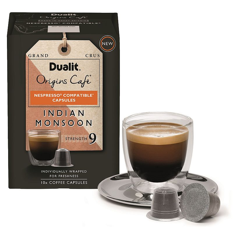 Dualit Origins Cafe Indian Monsoon Capsules - 10-pk.