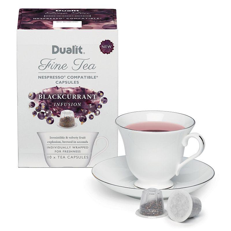 Dualit Fine Tea Blackcurrant Infusion Capsules - 10-pk.